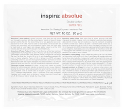INSPIRA ABSOLUE Энзимный скраб 2-в-1, 30 гр.