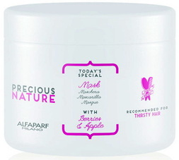 ALFAPARF Precious Nature MASK FOR DRY AND THIRSTY HAIR Маска для сухих волос, 500 мл.