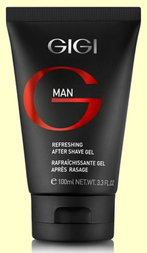 GIGI Гель после бритья GIGI MAN Refreshing after shave gel, 100 мл.